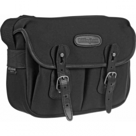 BILLINGHAM SAC HADLEY SMALL CANVAS NOIR/NOIR