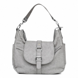 KELLY MOORE SAC B-HOBO HEATHER GREY