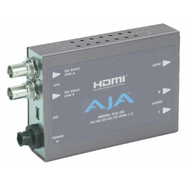AJA HI5 3G HD/SD SDI vers HDMI,3G-SDI+CABLE