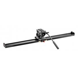 MANFROTTO VIDEO SLIDER MVS100A + MVH500AH