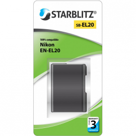 STARBLITZ VIDEO BATTERIE NIKON SB-EL20