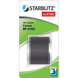 STARBLITZ VIDEO BATTERIE CANON BP-970G