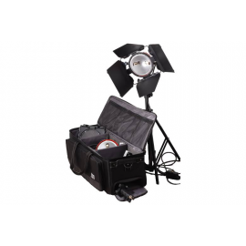 ISO VIDEO KIT MANDARINE 2X800W PIED/SAC VOLET