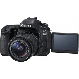 CANON EOS 80D+18-55 IS STM