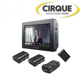 BLACKMAGIC D. VIDEO ASSIST 4k kit 2 bat. char