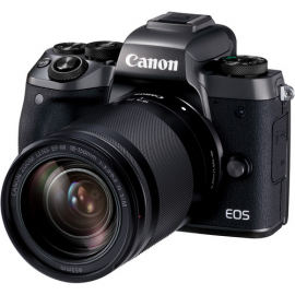 CANON EOS M5 18-250 IS STM +BAGUE EF-EOS M