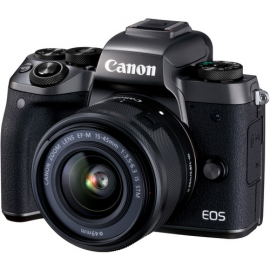 CANON EOS M5 15-45 IS STM +BAGUE EF-EOS M
