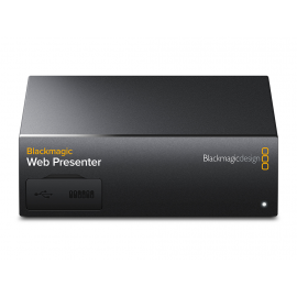 BLACKMAGIC D. WEB PRESENTER