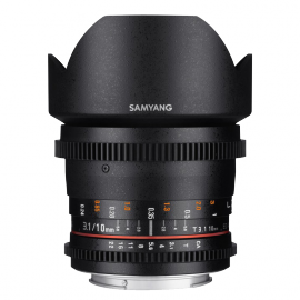 SAMYANG VIDEO 10MM T 3.1 VDSLR II CANON APS-C