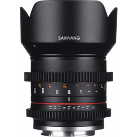SAMYANG VIDEO 21MM T 1.5 VDSLR II SONY E APSC