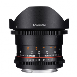 SAMYANG VIDEO 8MM T 3.8 VDSLRII FISHEYE CANON