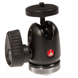 MANFROTTO VIDEO 492LCD ROTULE MICRO BALL GRIF