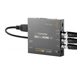 BLACKMAGIC D. MINI CONVERT H/DUTY SDI-HDMI 4k