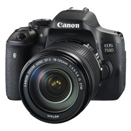 CANON EOS 750D+18-135 IS STM