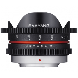SAMYANG VIDEO 7.5MM T 3.8 VDSLR MICRO 4/3