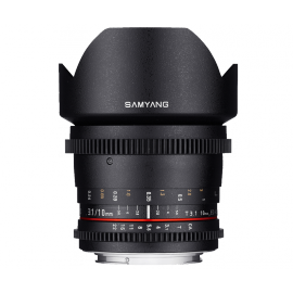 SAMYANG VIDEO 10MM T 3.1 VDSLR NIKON APS-C