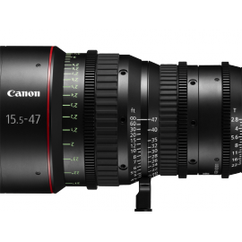 CANON VIDEO OBJ ZOOM CN-E 15.5-47MM EF