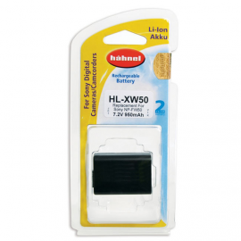HAHNEL VIDEO BATTERIE SONY HL-XW50