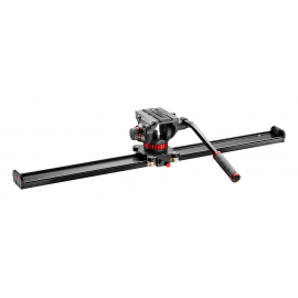 MANFROTTO VIDEO SLIDER MVS100A + MVH502AH