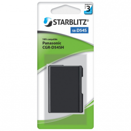 STARBLITZ VIDEO BATTERIE PANASONIC SB-D54SH