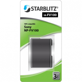 STARBLITZ VIDEO BATTERIE SONY SB-FV100