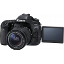 CANON EOS 80D+18-55 IS STM+2EME ACCU LP-E6N