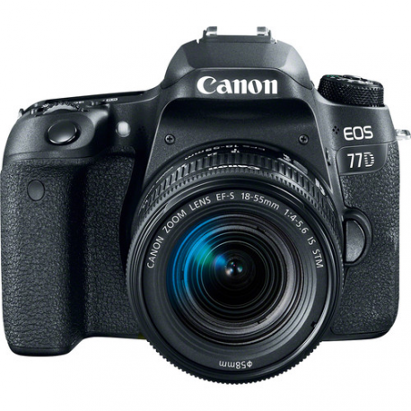 CANON EOS 77D+18-55 IS STM +SD16G°+SAC300G