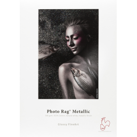 HAHNEMUHLE PHOTO RAG METALLIC A3 25F