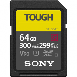 SONY CARTE UHS II SD XC TOUGH 64GB R300W299