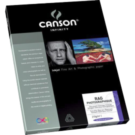 CANSON RAG PHOTOGRAPHIQUE A4 25F 210G