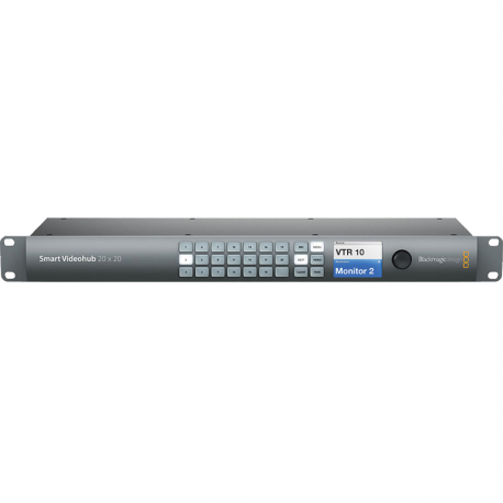 BLACKMAGIC D. SMART VIDEOHUB 20X20